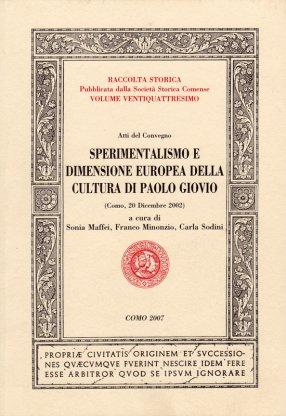 Sperimentalismo e dimensione europea nella cultura di Paolo Giovio