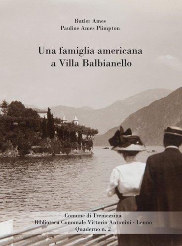 Una famiglia americana a Villa Balbianello