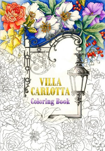 VILLA CARLOTTA COLORING BOOK